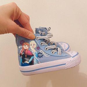 Disney Frozen Hightop Sneakers NWOT Size 5 toddler